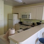 Kitchen area, two bedroomed apartment