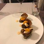 Nous avons dégusté une nouvelle fois des plats merveilleux et succulents! Leur créativité n'a pa