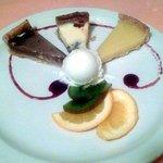 Variété de tartes maison en dessert