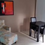 Small lounge area and table