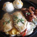 Jack Daniel's Chicken and Shrimp