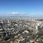 名古屋駅の高層ビル方面