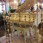 Piano e decoração.