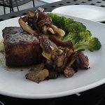 My hubby loved his steak dinner!
