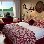Room 1 has an extra-large picture window, offering an amazing view of Nehalem Bay.