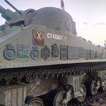 Churchill's Tank in Juno Beach