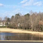 In February: A view of one of the Lakes in the Ford's Colony community.