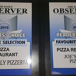 Best pizza in Pembroke 2 years running!! #votedpembrokesbestpizza2yearsrunning