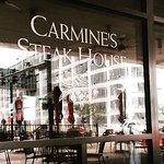 Carmine's Steak House, located in the heart of downtown St. Louis in the new Drury Plaza Hotel.