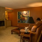 The Residence Suite appointed with fine art and personal effects of the owners is our most luxur
