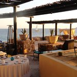 La Roca Outdoor Seating With View of the Pacific