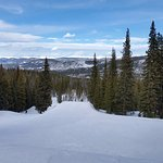 The ski runs are long and wide and even on the busiest days are not crowded