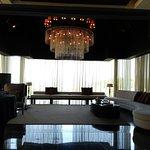 Living room of 3-bedroom Presidential Villa
