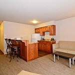 Executive Suite Kitchen & Living Area