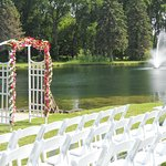 On site ceremony options available as well