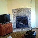 fireplace in 1 bedroom deluxe