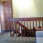 upstairs of lock off unit