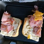 "Worst ""grilled ham and cheese"" in Charleston"