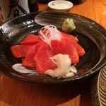 salmon sushimi