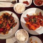 General Tao Chicken & Seafood Stir Fry