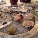 Super fresh oysters and clams at Eastern Standard