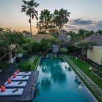 Massive pool at Mahesa Villa
