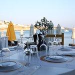 Our restaurant AvliTouThodori on the beach