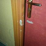 Shabby door