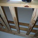 Broken bed frame my child had sleep on!