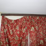 Curtains in the room