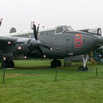 Avro Shackleton MR.3 Phase 3 WR977/B; volunteers were working on this