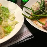 Room-Service: Caesar Salad & Ribeye Steak. Cooked Perfect! So Delicious! Reasonable price.