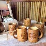 Ly uống nước Bamboo