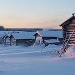 Замечательное морозное утро на краю света.