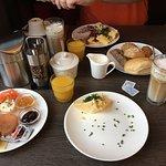 Sehr leckeres Frühstück Tag 1