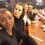 Mit meinen Models Georgina, Nurgül & Arantxa :)