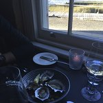 Oysters & that view!