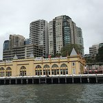 View of the building from a Sydney ferry. It's the center building.