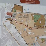 Recommended paths to visit the Kasbah.