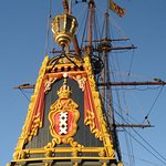Bataviawerf, de komaf van het schip