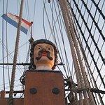 Bataviawerf, wat een touwen op zo'n schip