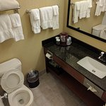 bathroom in king or double rooms