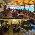 Churchill Restaurant - Outside and Inside