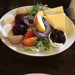 Ploughman's lunch salad
