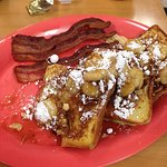 Yummy Bananas Foster French Toast!