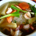 Soup is always a must in Cambodia served at any time of the day, with many different varieties.