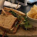 Great salmon sandwich