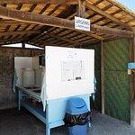 Wash station.