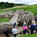 Chester's Fort foundations for bath house
