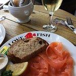 Fresh Smoked Salmon, absolutely delicious !